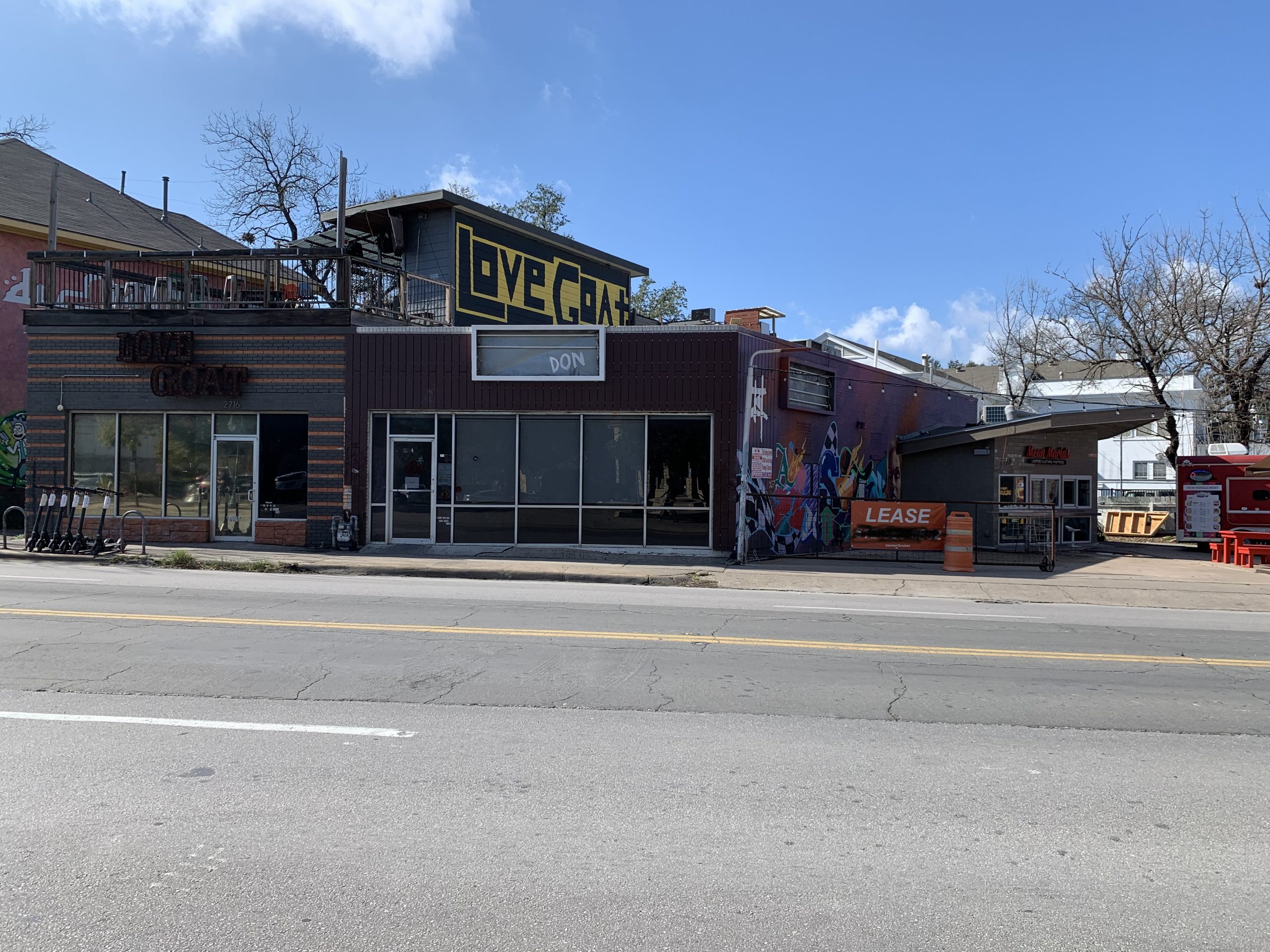 For Lease: 1,488 SF Retail on the north drag of campus.