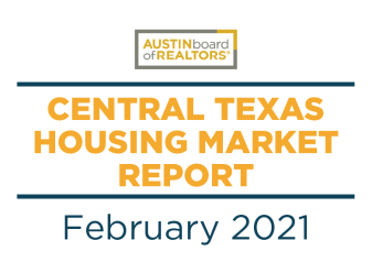 2021 February Central Texas Housing Market Report