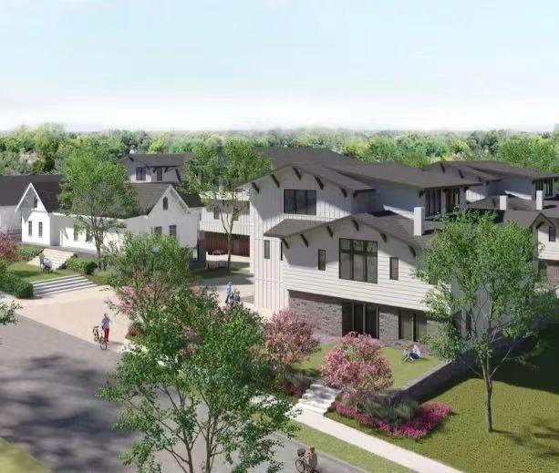 奥斯汀市中心附近将新建16栋豪宅,明年春季开放