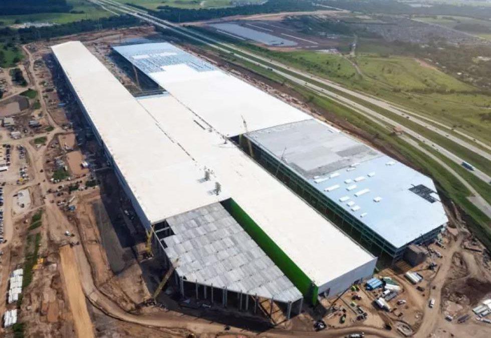 特斯拉披露奥斯汀超级工厂新照片,看完:实在太酷了……